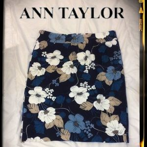 ❤️Ann Taylor Floral Skirt